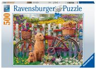 Puslespill 500 Søte Hunder Ravensburger