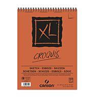 Tegneblokk Canson XL 120 ark 90 gr A3