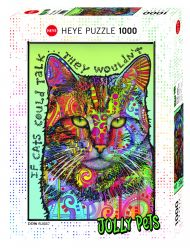 Puslespill 1000 If Cats Could Talk Heye