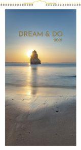 Veggkalender 2021 Dreamdo Måned