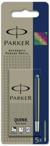 Blekkpatroner Parker Blue/Black