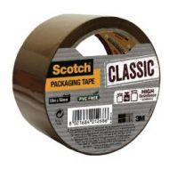 Pakketape Scotch Classic Brun  50Mmx 50M