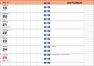 Kalender 7.sans Familieplanlegger Flora A5 20/21