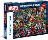 Puslespill 1000 Impossibble puzzle Marvel Clemento
