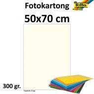 Fotokartong Folia 50X70 300G Perlehvit
