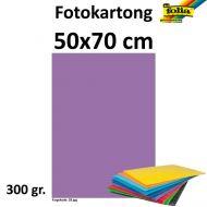 Fotokartong Folia 300G 50X70 Lilla