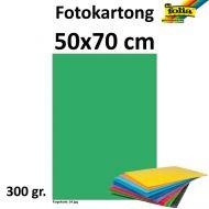 Fotokartong Folia 50X70 300G Smaragdgrønn