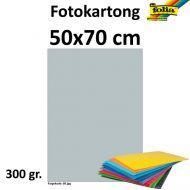 Fotokartong 50X70 300G Sølv