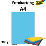 Fotokartong A4 300G Himmelblå