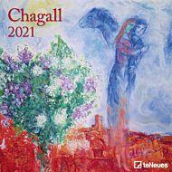 Kalender 2021 30x30cm Chagall