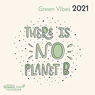 Kalender 2021 18x18cm Green Vibes