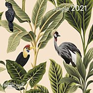 Kalender 2021 18x18cm Jungle
