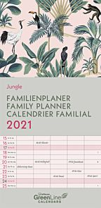 Kalender 2021 22x45cm Jungle