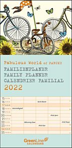 Kalender 2022 Fabulous World Of Pabuku 22X45cm