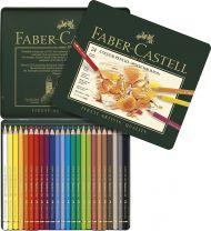 Fargeblyant Faber Polychromos 24 Stk