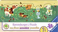 Puslespill 5 Knotter Tre Dyrevenner Ravensburger
