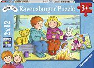 Puslespill 2X12 Karsten Og Petra Ravensburger