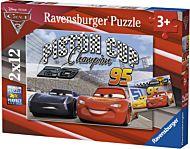 Puslespill 2X12 Disney Cars 3 Ravensburger