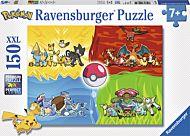 Puslespill 150 Pokémon Ravensburger
