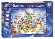 Puslespill 100 Disney Christmas Ravensburger