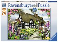 Puslespill 500 Dream Cottage Ravensburger