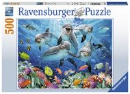 Puslespill 500 Dolphin Ravensburger