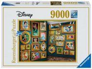 Puslespill 9000 Disneyfigurer Ravensburger