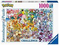 Puslespill 1000 Pokèmon Utfordring  Ravensburger