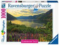 Puslespill 1000 Fjord I Norge Ravensburger
