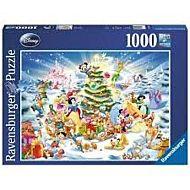 Puslespill 1000 Disney Christmas Ravenburger