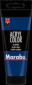 Acrylmaling Marabu 100ml 053 Dark Blue