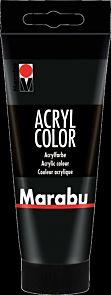Acrylmaling Marabu 100ml 073 Black