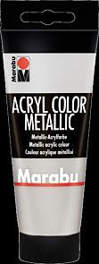 Acrylmaling Marabu 100ml 082 Silver