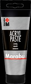 Paste Marabu Acryl 100ml Farge 082 Silv