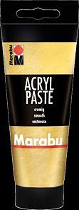 Paste Marabu Acryl 100ml Farge 084 Gull