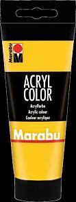 Acrylmaling Marabu 100ml 021 Yellow