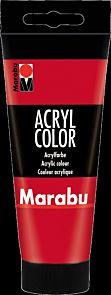 Acrylmaling Marabu 100ml 031 Cherry Red
