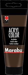 Acrylmaling Marabu 100ml 045 Dark Brown