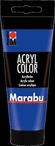 Acrylmaling Marabu 100ml 055 Ultramarin