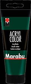 Acrylmaling Marabu 100ml 075 Pine Green
