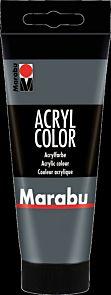 Acrylmaling Marabu 100ml 079 Dark Grey