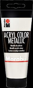 Acrylmaling Marabu 100ml 770 Meta White