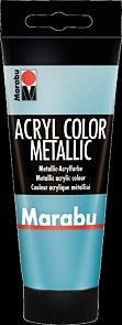 Acrylmaling Marabu 100ml 792 Meta Petro