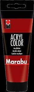 Acrylmaling Marabu 100ml 038 Ruby Red