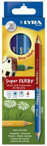 Fargeblyant Super Ferby Duo 6 + 12