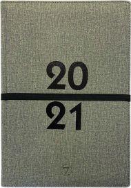 Kalender 7.sans Studieåret Maxi 19 x 27 cm imitert