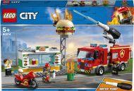 Lego Brannslokking På Burgerbar 60214