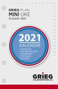Årspakke 2021 Grieg Plan Mini Uke