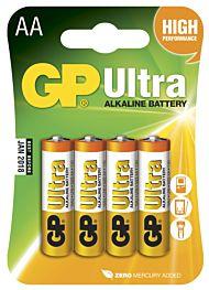 Batteri GP Ultra AA(4)