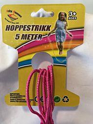 Leke Fh Hoppestrikk 5 M Blå Og Rosa Ass.
